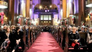 A Christmas Songs Concert was given by the Romanian Cultural Center of Istanbul