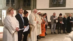 Almanya'da 'Ortak Barış Duası' Düzenlendi