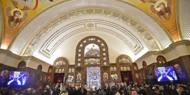 Ortadoğu'nun En Büyük Katedrali'nin Açılışı Yapıldı