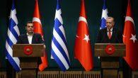 Cumhurbaşkanı Erdoğan ve Başbakan Çipras Bir Araya Geldi