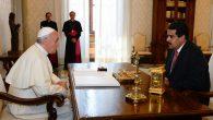 Venezuela Devlet Başkanı Maduro, Ülkedeki Siyasi Krizin Çözümü İçin Papa Françesko'dan Yardım İstedi