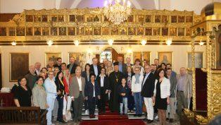 Avrupa Birliği Ülkelerinin Büyük Elçilerinden, İskenderun'da Kilise Ziyaretleri