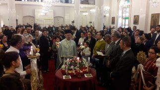 İskenderun Ortodoks Kilisesinde 'Kutsal Haça Secde' Ayini