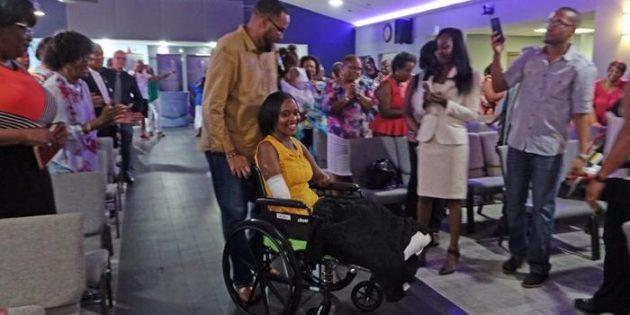 Kol ve Ayaklarını Kaybeden Kadın Tanrı'da Şifa Buldu
