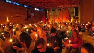 Galata'da Taize Duası