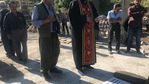Mor Yuhanon Kilisesi'nin Temelleri Atıldı