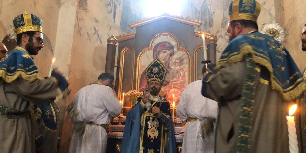 Yılda Bir Kez İbadete Açılan Ahtamar Kilisesi'nde 7. Ayin Düzenlendi