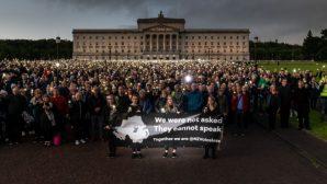 Kuzey İrlanda'da Sessiz Protesto