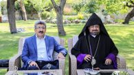 Bishop Mashalyan Paid Official Visits Before The Celebration in Ahtamar