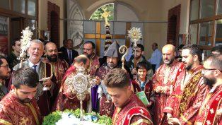 """Ermeni Apostolik Kilisesi'nin 5 Büyük Bayramından Biri Olan """"HAÇVERATS"""" Kutsal Haç'ın Yüceltilişi Bayramı Kutlandı"""