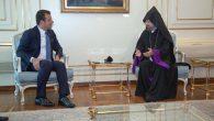 Patriarchal Locum Tenens Bishop Mashalyan Visited Istanbul Mayor Ekrem İmamoğlu