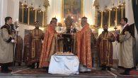 Samatya Surp Kevork Ermeni Apostolik Kilisesi'nde Varaka Haç Kutlandı