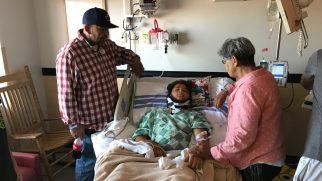 11 Yaşındaki Çocuk Hayatta Kaldığı İçin Tanrı'ya Şükrediyor