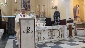 Tüm Azizler Bayramı İskenderun'da Sade Bir Törenle Kutlandı