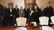 Metropolit Athanasiyos Fahd'dan, Hatay Valisi Rahmi Doğan'a Ziyaret
