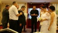 Antalya Kilisesi'nde düğün mutluluğu