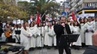 Kadıköy'de Noel yürüyüşü