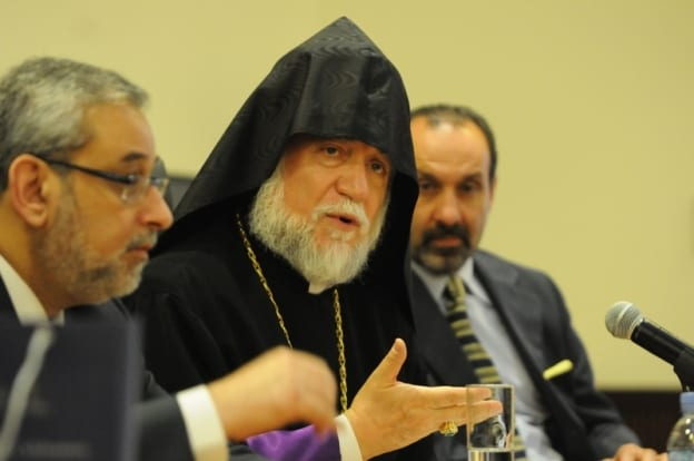Lecture on Interfaith Dialogue by His Holiness Aram I, Catholicos of Cilicia...His Holiness Aram I was elected Catholicos (the Head of the Armenian Church) in 1995. Called to serve as Primate of the Armenian Community of Lebanon during the Lebanese Civil War, His Holiness is a strong supporter of inter-religious relations, dialogue and co-operation. In addition to his numerous articles and reviews in Armenian, English and French, His Holiness has authored over 15 books.