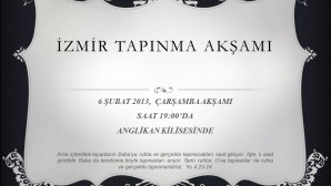 İzmir Tapınma Akşamı, Anglikan Kilisesi'nde