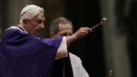 Papa 16. Benedikt son ayinini yönetti