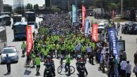 Dünya Çevre Günü'nde Bisikletler Yolda