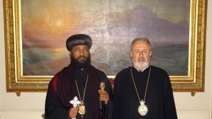 Etiyopya'dan Patrikhane'ye Teşekkür Ziyareti