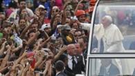Papa Francis Hazretleri Brezilya'da