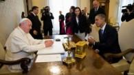 Vatikan'da Papa Francis-Başkan Obama buluşması
