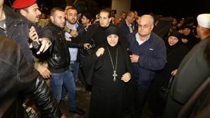 Suriye'de kaçırılan 12 rahibe serbest bırakıldı