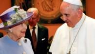 Kraliçe II. Elizabeth Papa'yı ziyaret etti