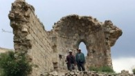 Define avcıları tarihi kiliseyi delik deşik etti