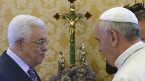 Papa'dan Filistin ve İsrail liderlerine tarihi çağrı