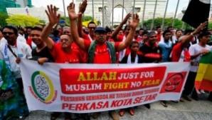 Malezya'da Hristiyanlara 'Allah' kelimesini kullanmak Yüksek Mahkeme tarafından yasaklandı