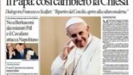 Papa'nın röportajı büyük tartışma yarattı