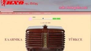 İstanbul'da internetten Yunanca yayın yapan bir radyo var: İho Tis Polis