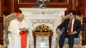 IKBY Başbakanı Neçirvan Barzani'den Papa'ya çağrı
