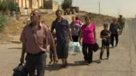 Musul'da 2 günde 15 bin Hristiyan evini terk etmek zorunda kaldı