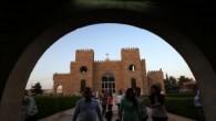 Musul'dan kaçıp Erbil'e sığınan Hristiyanlara Kızılay yardımı