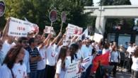 Hristiyanlar IŞİD'i Bakırköy Meydanı'nda protesto etti