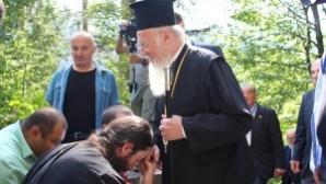 Sümela Manastırı'nda beşinci ayin