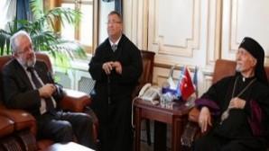 Dünya Ermeni Katolikleri Patriği'nden İstanbul Müftüsü'ne ziyaret