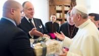 Dünya Yahudi Kongresi Başkanı Lauder Papa Francis ile görüşmesinin ayrıntılarını anlattı