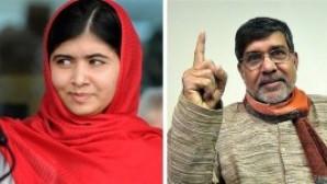 Nobel Barış Ödülü Yousafzay ve Satyarthi'ye
