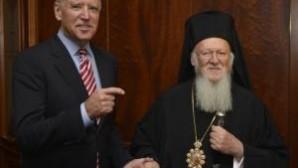 ABD Başkan Yardımcısı Biden Patrik Bartholomeos ile görüştü