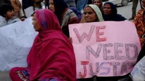 Pakistanlı Hristiyanlardan protesto eylemi
