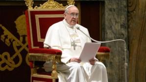 Papa'dan Taziye Mesajı