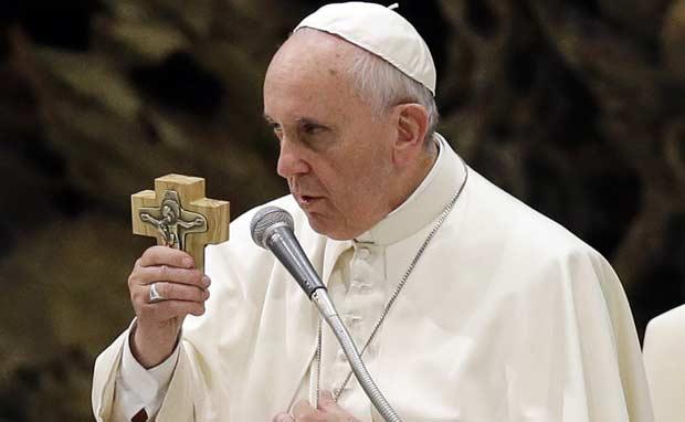 papa francis strasbourg