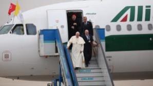 Papa İstanbul'a geldi