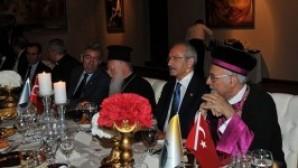CHP lideri Kılıçdaroğlu Hristiyan ve Musevi dini liderleri dinledi