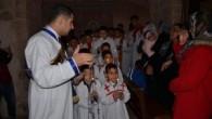 Mardin Kırklar Kilisesi'nde Süryaniler İsa Mesih'in doğumunu ve vaftizini andılar